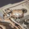 marriage is useless for wages: rings and money