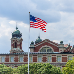 Ellis Island - immigrants in the U.S.